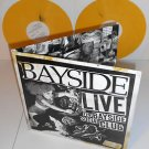 BAYSIDE live at the bayside social club DBL Lp Record YELLOW Marbled Vinyl