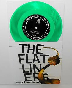 "DEAD TO ME plays FUGAZI / FLATLINERS plays ROCKET FROM THE CRYPT 7"" GREEN Vinyl"