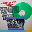 YOUTH OF TODAY break down the walls LP Record GREEN Vinyl , shelter , Judge
