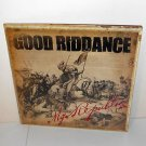GOOD RIDDANCE my republic LP Record Vinyl SEALED , punk , fat wreck chords