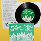 "OLD GROWTH / SCIENCE OF YABRA split 7"" Record Vinyl"