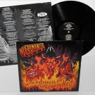NEKROMANTIX what happens in hell, stays LP Record Vinyl with lyrics insert, punk