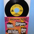 "HELMET , TAR , GOD BULLIES , SURGERY Ugly American Tour comp AM REP 7"" Record"