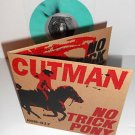 "CUTMAN no trick pony Ep 7"" Record AQUA Vinyl with rare Black marbling"