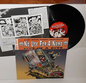 NO USE FOR A NAME live in a dive LP Vinyl Record