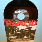 "RANCID spirit of '87 - 4 song ep 7"" Record punk Vinyl"
