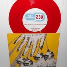 """FAKE PROBLEMS viking wizard eyes full of lies 3 song ep 7"""" Record RED Vinyl"""
