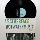 LEATHERFACE and HOT WATER MUSIC split Lp Vinyl Record , byo records
