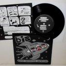 "BIS atom powered action 7"" Vinyl Record 1996 Wiija Records"