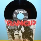 "RANCID arrested in shanghai - 3 song ep 7"" Record punk Vinyl"