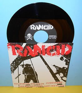 "RANCID you want it, you got it - 4 song ep 7"" Record punk Vinyl"