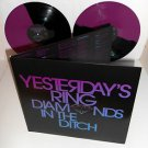 YESTERDAY'S RING diamonds in the ditch Double PINK and Black Vinyl Record LTD ED