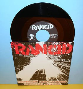 "RANCID liberty and freedom - 4 song ep 7"" Record punk Vinyl"