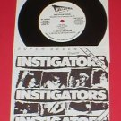 "INSTIGATORS 7"" Record oop 1986 mystic records RARE punk"