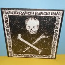 RANCID s/t skull and crossbones LP Record with lyrics insert ,still SEALED Vinyl