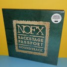 NOFX backstage passport soundtrack LP Vinyl Record SEALED fat wreck chords Punk
