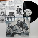 LAGWAGON blaze LP Record punk Vinyl w/ lyrics insert joey cape fat wreck chords