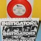 """INSTIGATORS super seven 7"""" Record COLOR Vinyl mystic records PUNK"""