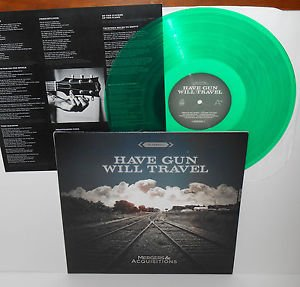 HAVE GUN WILL TRAVEL mergers & acquisitions Lp GREEN Vinyl Record w/lyric insert