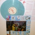 JOSH SMALL juke LP Record Light BLUE-AQUA Vinyl with lyrics insert , tim barry