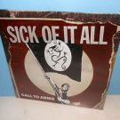 SICK OF IT ALL call to arms LP Record SEALED Vinyl , NYHC PUNK fat wreck chords