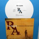 "RISE AGAINST re-education , minor threat Cover Song 7"" Record WHITE Vinyl"