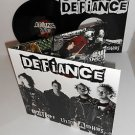 DEFIANCE out of the ashes LP Vinyl Record with Gatefold cover and lyrics insert