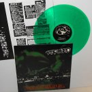 REFUSED this just might be LP Record GREEN Vinyl with lyrics insert