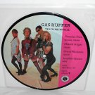 """RED AUNTS / GAS HUFFER cover each others songs Split 7"""" Record PIC DISC Vinyl"""