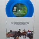 "O PIONEERS plays PIEBALD / NEW BRUISES plays SUPERCHUNK 7"" Record BLUE Vinyl"
