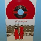 "WHITE STRIPES hotel yorba , rated x 7"" Record RED Vinyl LIVE AT THE HOTEL"