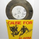 "CAUSE FOR ALARM nine song Ep 7"" SMOKE SWIRL VINYL Record , only 110 pressed"