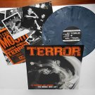 TERROR no regrets Live LP Record BLUE GREY Marbled Vinyl with insert , carry on