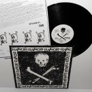 RANCID s/t skull and crossbones LP Record with lyrics insert , punk Vinyl