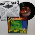 "TIGHT BROS / CAPITALIST KIDS split 7"" Vinyl Record"