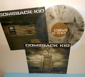 COMEBACK KID broadcasting LP Record SMOKE Vinyl