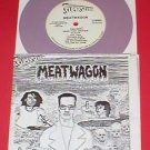 "MEATWAGON 7"" Record PURPLE Vinyl 1989 mystic records"