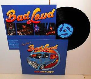 JOEY CAPE BAD LOUD volume one LP Record Vinyl with lyrics insert , lagwagon PUNK