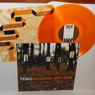 PIEBALD accidental gentlemen Lp ORANGE / GOLD VINYL Record with lyrics insert