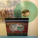 DROPKICK MURPHYS sing loud sing proud LP Record CLEAR / LIGHT GREEN Vinyl