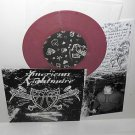 "AMERICAN NIGHTMARE 4 song demo 7"" LIGHT PURPLE VINYL Record , give up the ghost"