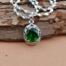 HOT NEW Fashion Women's Jewelry Silver AND GREEN COLOR Pendant Best Gift-ii