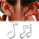 NEW HOT FASHION Cute Tiny Women's Musical Note Ear Stud Earrings Gift-O