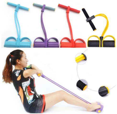 Stretch Elastic Resistance Band Fitness Equipment