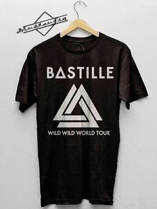 Bastille Band Wild World 2016 Shirt Men & Women Unisex tshirt S,M,L,XL,2XL,3XL
