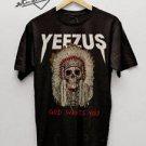 Kanye West Yeezus Tour Merch Shirt Adult Unisex S,M,L,XL,2XL,3XL black tshirt