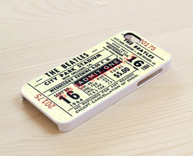 Vintage Beatles Ticket Concert for iphone 6 case, iPhone 6 cover, iPhone 6 accsesories