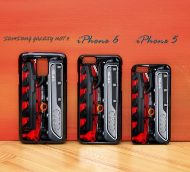 Audi Turbo Engine TFSI iphone 6 case, iPhone 6 cover, iPhone 6 accsesories