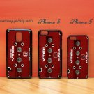 DOHC VTEC Honda Engine Red iphone 6 case, iPhone 6 cover, iPhone 6 accsesories