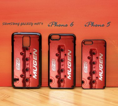 Mugen DOHC VTEC Honda Engine Red for iphone 6 case, iPhone 5 case, iPhone 7 case, iphone 4 case